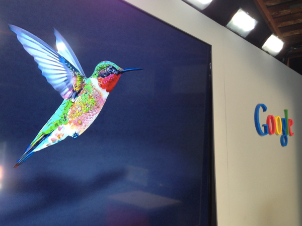 Google Hummingbird algorithm deployed in Sept 2013 to provide conversational SERPs